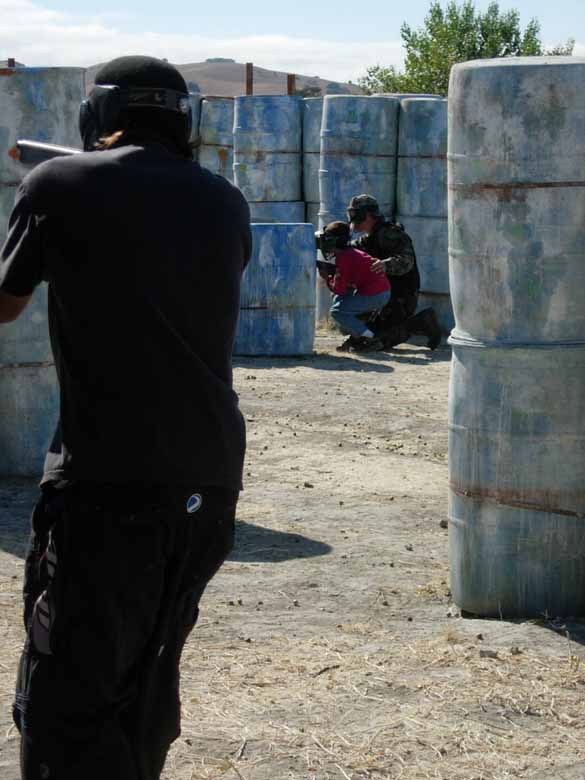 Close Quarters Battle or The Crucible at TAG Paintball