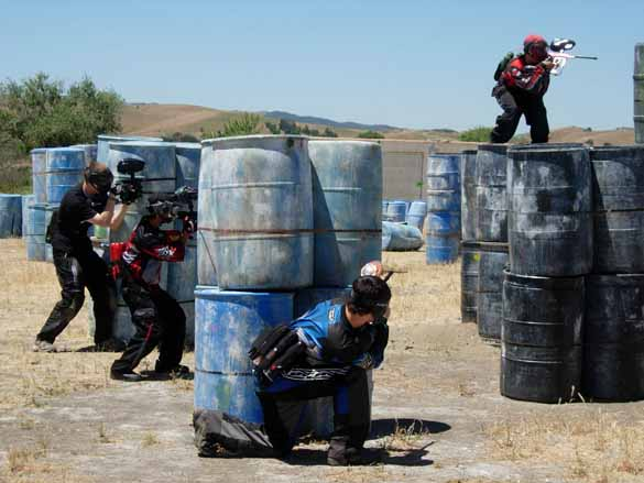 Thehe Crucible Course at TAG Paintball.
