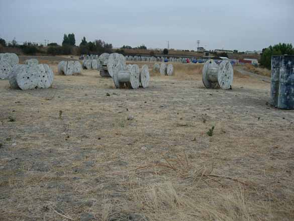 Spools Course at TAG Paintball