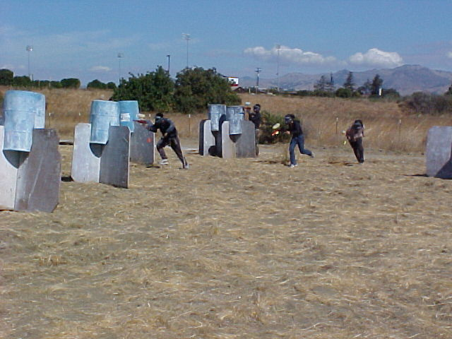 XO Course at TAG Paintball